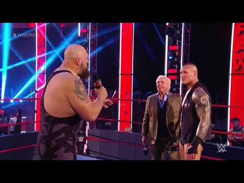Big Show confronts Randy Orton & Ric Flair : Raw , June 22 , 2020