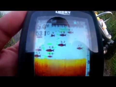.Lucky FF718LiC-W  Лучший в Мире Беспроводной эхолот. Тест на озере.