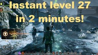 Dragon Age: Inquisition - INSTANT MAX LEVEL HACK