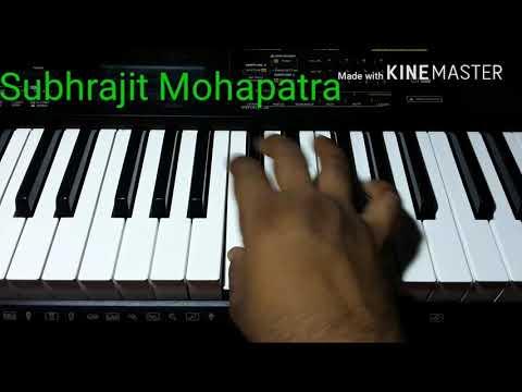 Niswa kara he mate  odia bhajan piano cover by Subhrajit Mohapatra