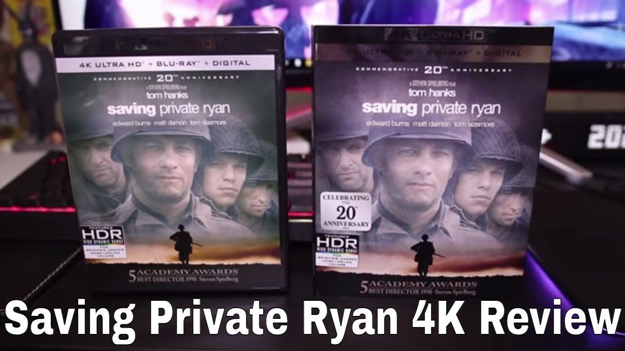 Download Saving Private Ryan 4K Blu-Ray Review