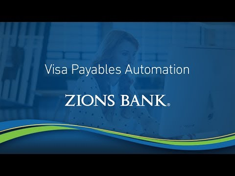 Visa Payables Automation from Zions Bank