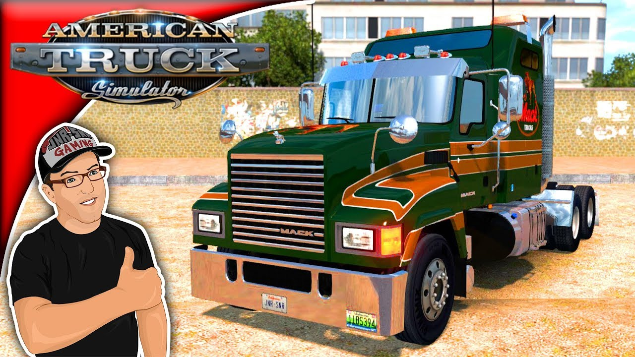 American Truck Simulator Mods MACK CHU Pinnacle Mod Review