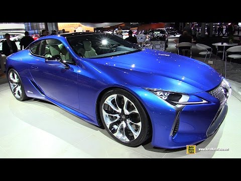 2017 Lexus LC500 Hybrid - Exterior and Interior Walkaround - 2016 New York Auto Show