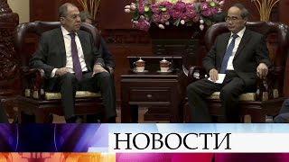 С.Лавров: Ультимативная позиция США на переговорах с КНДР по ядерной проблеме не принесет результата