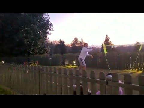 Finally something Cristiano Ronaldo is not good at: Badminton