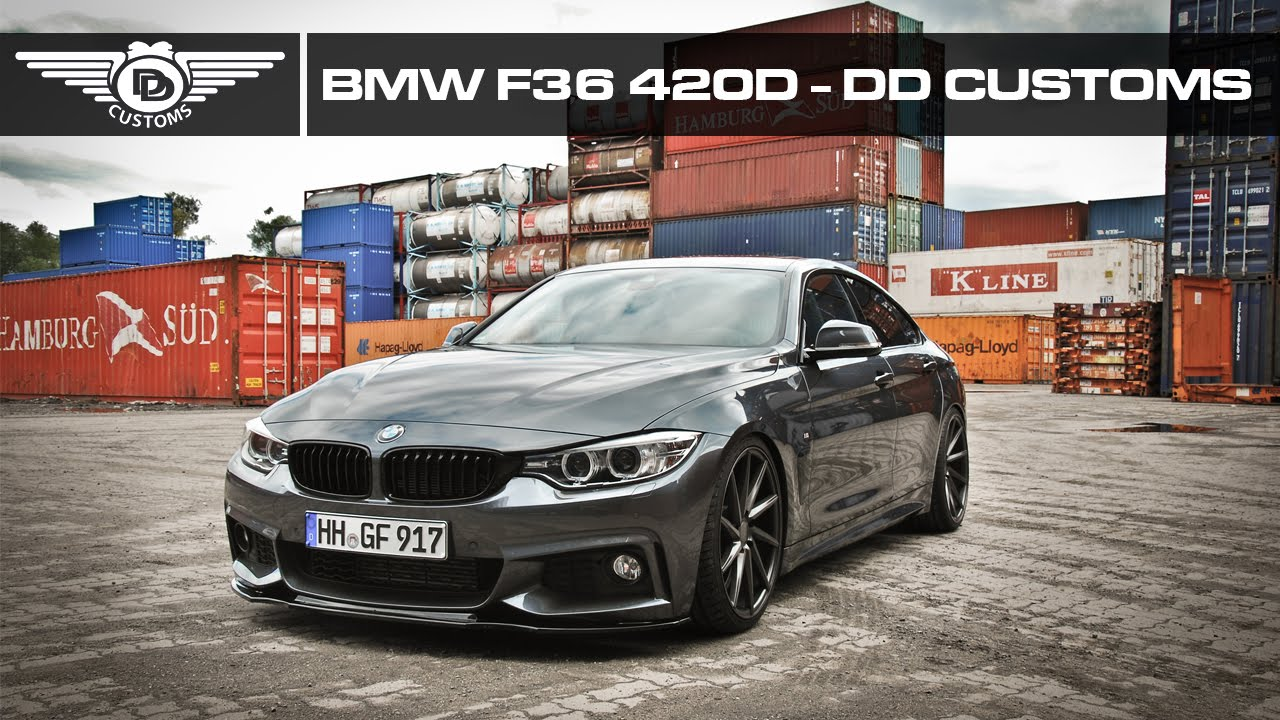 bmw f36 gc 420d tuning by dd customs hamburg hh youtube
