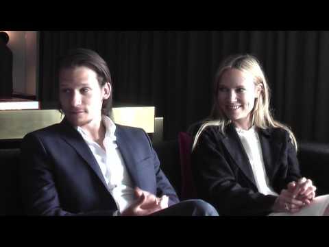 Exclusive : Moa Gammel and Filip Hammarström  Jordskott The  Carpet