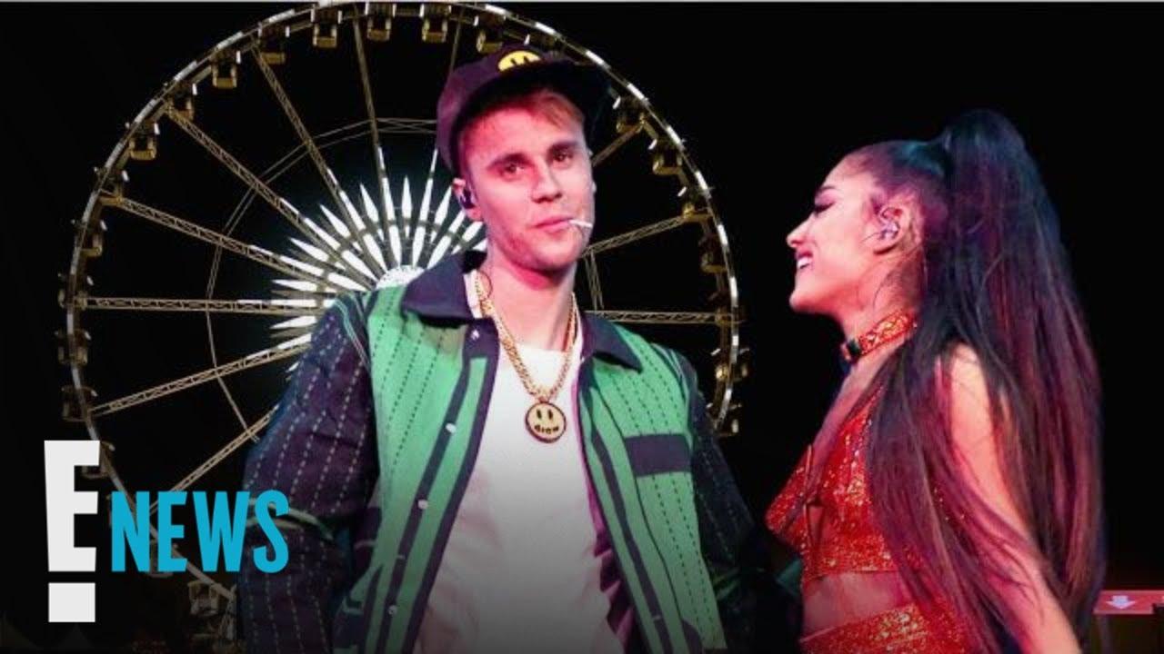 Justin Bieber Ariana Grande S Surprise Collab At Coachella E News Youtube
