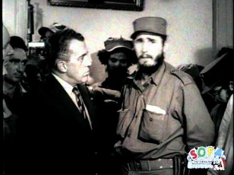 Fidel Castro Interview on Ed Sullivan - 1959