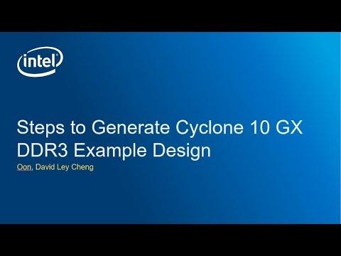 Steps to generate intel fpga cyclone10 gx ddr3 example design steps to generate intel fpga cyclone10 gx ddr3 example design voltagebd Gallery
