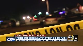 Police shoot armed robbery suspect in Phoenix