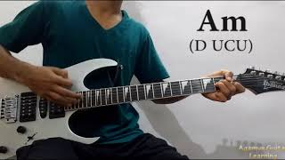 Dilbar Dilbar - Guitar Open Chords Lesson+Cover, Strumming Pattern, Progressions