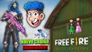 EL NUEVO CODIGO DEFINITIVO DE FREE FIRE y SORTEO DE TRAJES !! *ENTRA RAPIDO* - TheDonato