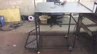 Building Custom Welding Cart/welding Table (part 4)