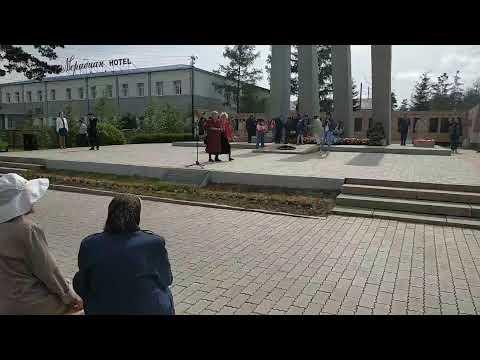 Акции «Свеча памяти» и «Горсть памяти» в Улан-Удэ
