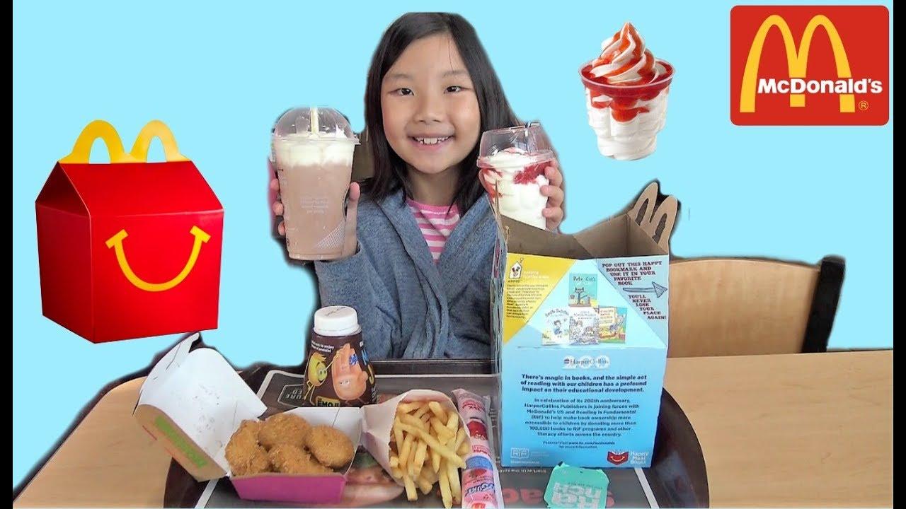 Johny Johny Yes Papa Nursery Rhyme for Kids Mcdonalds Happy Meal ...