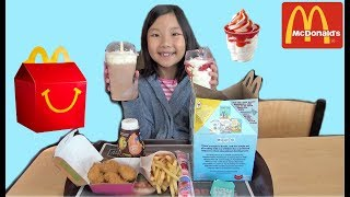 Johny Johny Yes Papa Nursery Rhyme for Kids Mcdonalds Happy Meal