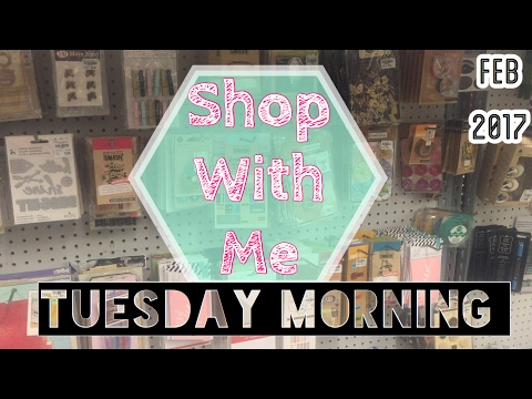 SHOP WITH ME | TUESDAY MORNING / FEB 2017 | I'm A Cool Mom