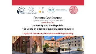 University and the Republic: 100 years of Czechoslovakia/Czech Republic thumbnail