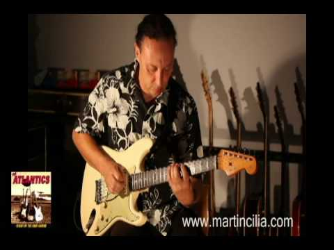 Martin Cilia plays Big Swell from Flight of the Surf Guitar