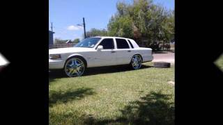 97 Lincoln Towncar On 24 S By Omaroutlaw956