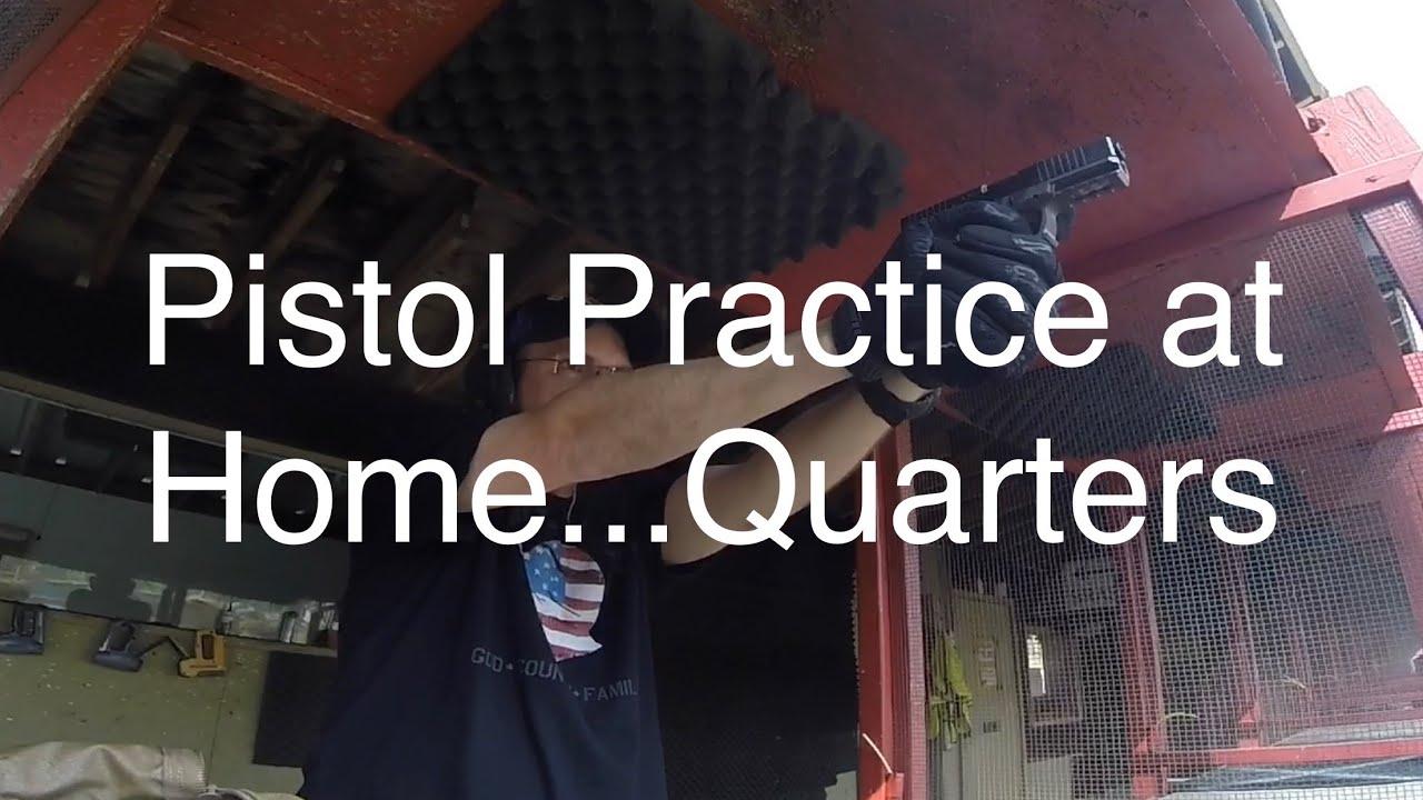 Pistol Practice at Home...Quarters #2AStrong #Quarantine #PistolSkills