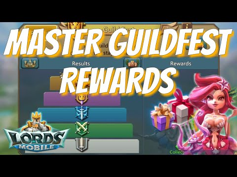 Master Guild Fest Rewards - Lords Mobile