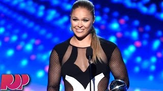 Ronda Rousey Mocks Woman Beater Floyd Mayweather At ESPY Awards