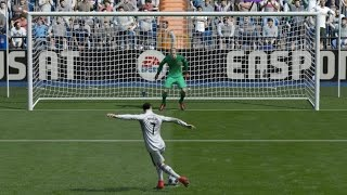 The Rabona Penalty in FIFA