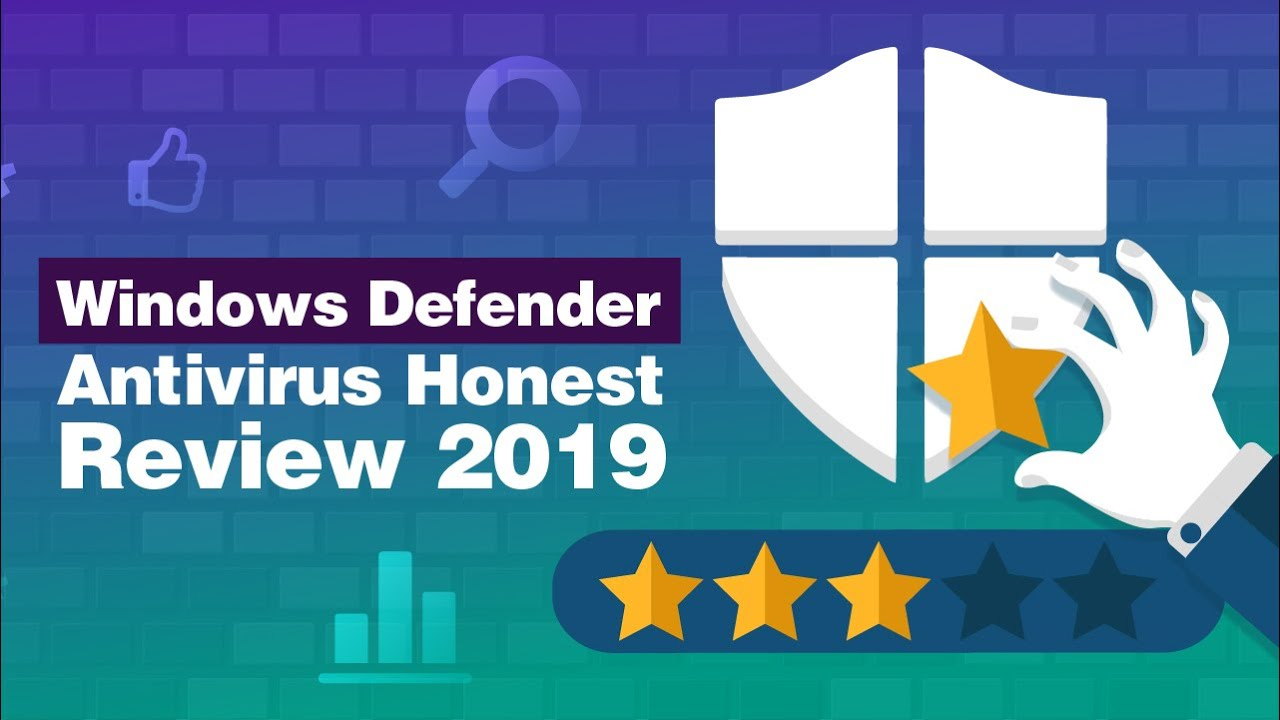 Windows Defender Review 2020.Windows Defender Antivirus Honest Review 2019