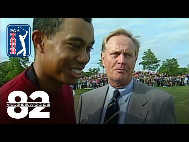 Tiger Woods wins The Memorial Tournament 2001 | Chasing 82