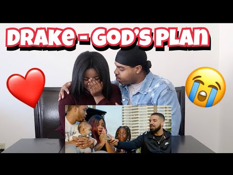 Drake gives away $1 Million😱 | Drake - God's Plan (Music Video) | SHE CRIES 😭❤️ | REACTION!!!!