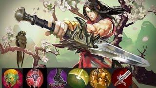 Vainglory Gameplay - Ep 17: Blackfeather (R) Skin /WP/ Jungler【2.0】