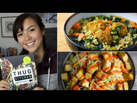 Vegan Tacos, Noodles, Chickpea Salad + More // THUG KITCHEN Cookbook Review
