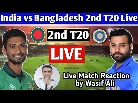 Chit Chat with Cricket fans by Wasif Ali   Live Match reaction of ind vs ban 2
