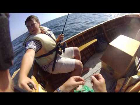 Sea Bass Boat Fishing Out Of Beer Devon 2012