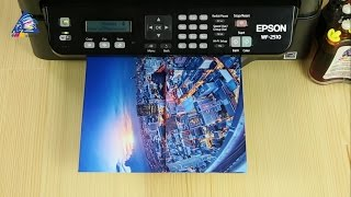 Огляд МФУ Epson WorkForce WF-2510