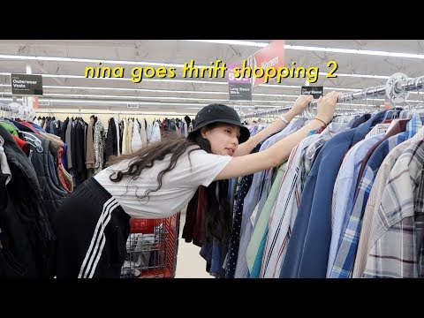 nina goes thrift shopping 2! + other things