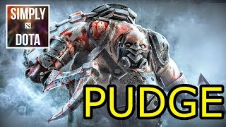 Simply DotA Pub Plays Pudge DotA 2 Pro Gameplay Highlights