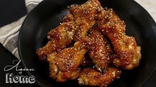 Asian at Home   Sesame Chicken Wings