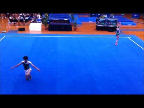Bryce & Chelsea - Level 4 MXD pair balance, 2012