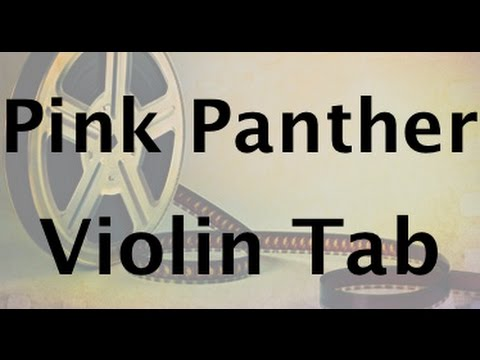 Learn Pink Panther on Violin - How to Play Tutorial