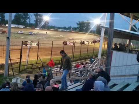 B mods Heat 1  Fayette County Speedway