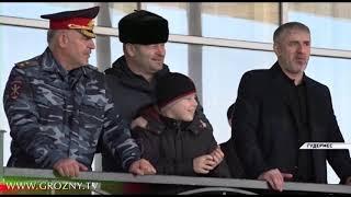 Рамзан Кадыров посетил конные скачки в Гудермесе