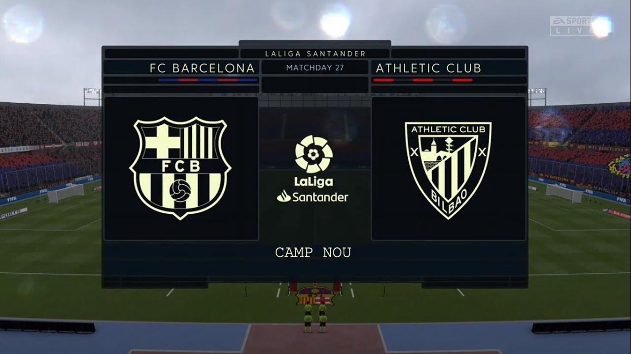 Barcelona vs Athletic Bilbao ⚽ | La Liga (23/06/2020 ...