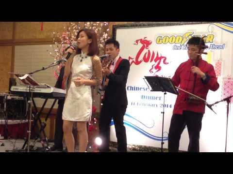 "Live Band Performance ""Country Road"" by Rega LiveBand Service Provider KL MM/WQ/Erhu"