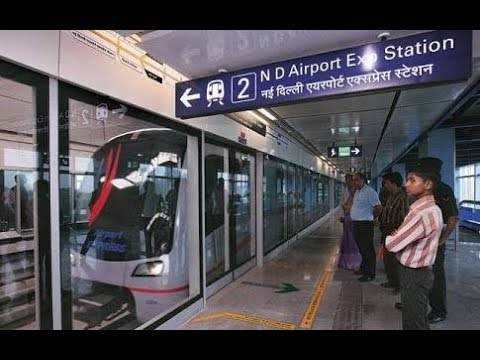 Reach T2 & T3, IGI Airport, New Delhi by Airport Express metro link
