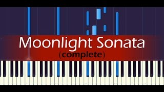 "Piano Sonata No. 14, ""Moonlight"" (Complete) // BEETHOVEN - Stafaband"