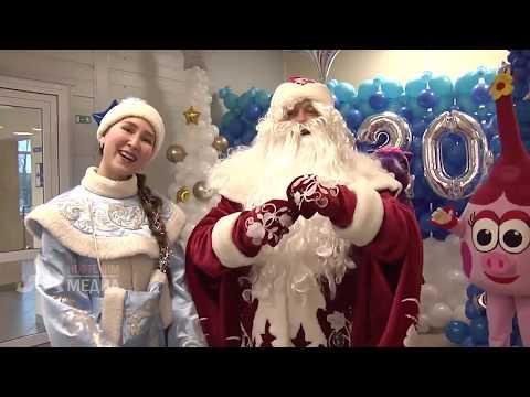 В Нефтехим арене прошли новогодние представления для детей нефтехимиков